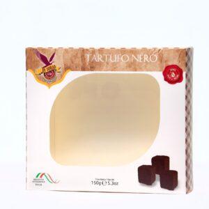 Tartufo nero di cioccolato fondente
