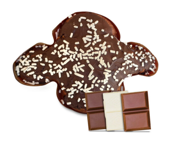 Colomba ai 3 cioccolati