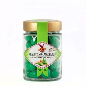Dragèes alle mandorle-pistacchio